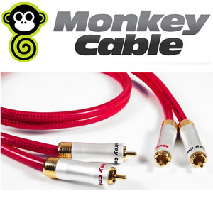 MonkeyCable(몽키케이블)  Clarity RCA 인터커넥터 1m