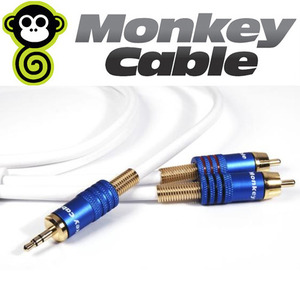 Monkey Cable (몽키케이블) Concept 3.5mm Mini Jack to 2x RCA 케이블 1m